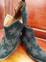 Women's Jeffrey Campbell Optimum Studded Black Bootie, Size 6.5 - Black - $113.85