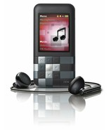 Creative ZEN Mozaic Blak 2GB WMA MP3 Player Wit FM Radio & Built-in Spea... - $119.99