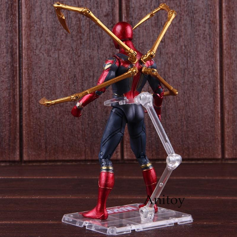 Hot Toys Infinity Avengers Infinity Iron Spiderman Action Collectible Model 17cm