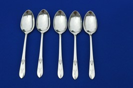 5 Wm Rogers MFG Co Tapestry 1940 Teaspoons  Mono M - $9.90