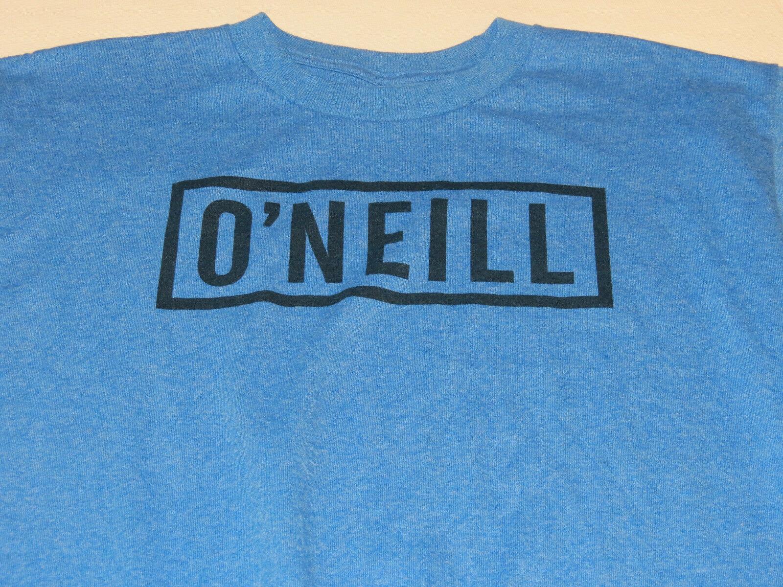 Boys youth O'Neill surf skate XL Block T shirt Youth TEE SBZ blue hthr SU6218403 image 2