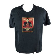 Henry Rollins Band Mens T-Shirt Sz L Lg 2008 Recountdown Tour Short Sleeve - $28.72