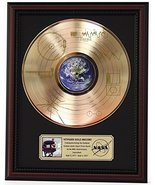 VOYAGER ONE - SOUNDS OF THE EARTH GOLD LP RECORD FRAMED CHERRYWOOD DISPL... - $151.95