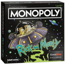 Monopoly: Rick and Morty Edition  by USAopoly Brand New!!! - $39.99