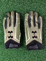 Team Issued Baltimore Ravens UA Salute to Service Large Football Gloves - $29.99