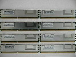 32GB Memoria Kit 8 X 4GB Fb-Dimm PC2-5300F 667MHz For Dell PowerEdge 2900 Server