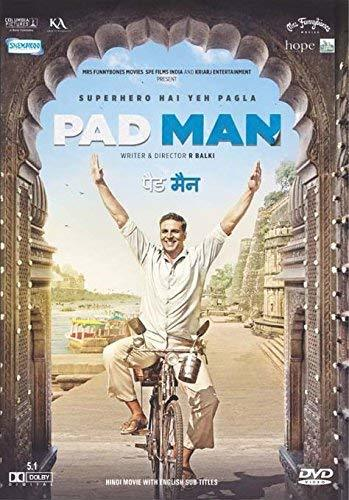 Padman Hindi DVD - Akshay Kumar Latest 2018 Bollywood Film Movie Cinema [DVD] [2