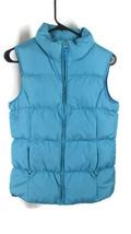 Lands end Blue girls down puffer puffy winter vest NWOT XL 16 - $17.81