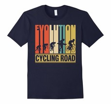 Dad Shirts -  Vintage Retro Evolution Of Cycling Road. Funny Shirt Gift Men - $19.95+
