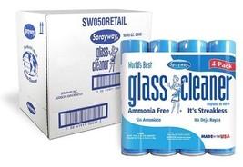 12 Pk Sprayway Glass Cleaner 19 oz Clean Fresh Fragrance Heavy Duty Clea... - $27.07