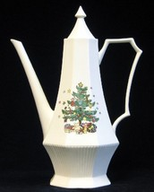 NIKKO CHRISTMASTIME COFFEE POT NEW IN BOXE - $88.83