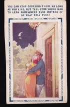 You Can't Stop Courting Vintage Postcard D. Tempest - $3.58