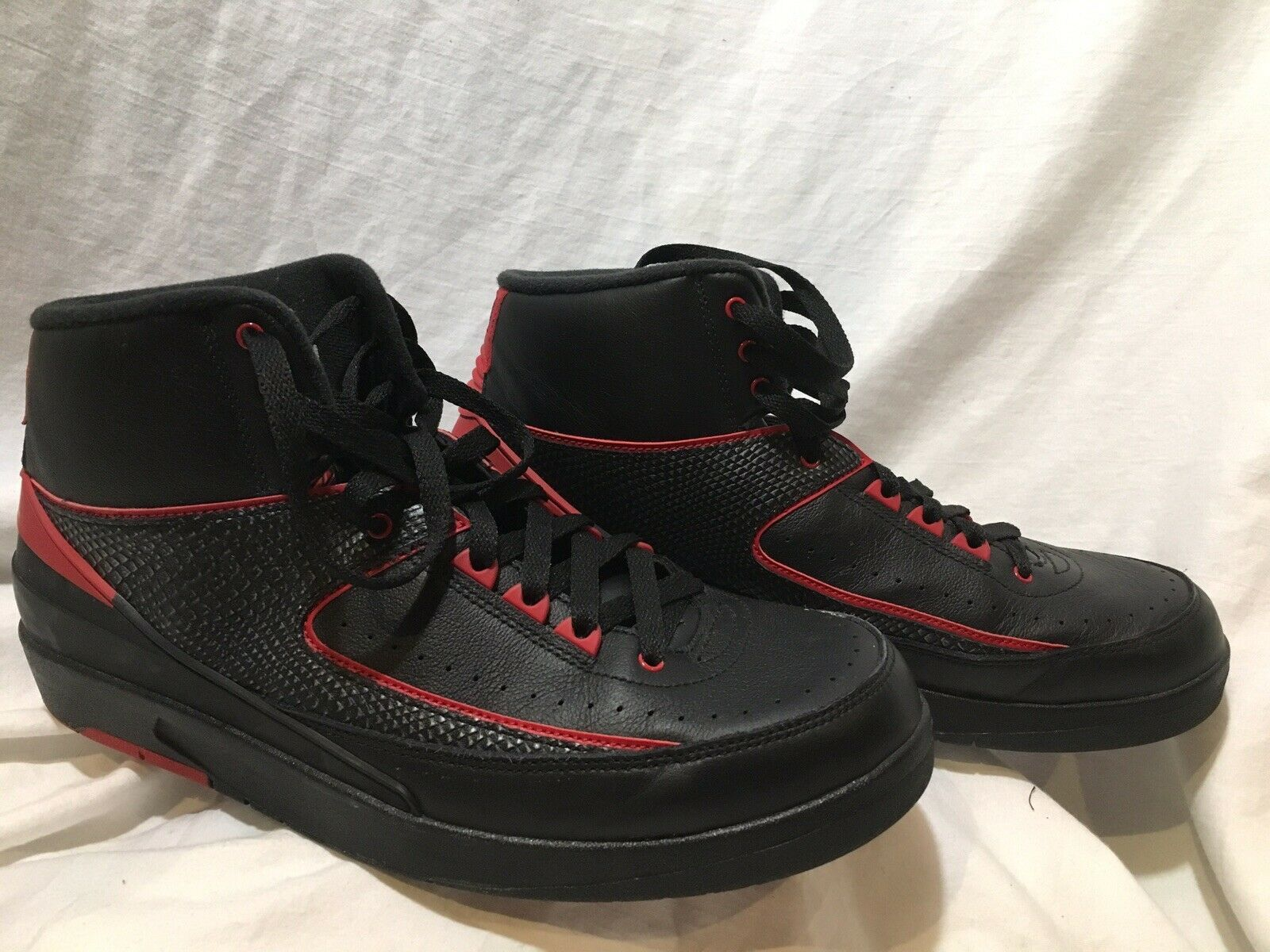 f2ed71cf755 S l1600. S l1600. Previous. Nike Air Jordan 2 II Retro Alternate 87 Black  Varsity Red 834274-001 Size 11.5