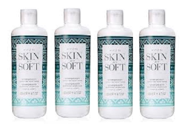Primary image for Avon Skin So Soft Wintersoft Hydrating Body Wash 11.8 fl oz - 4 Pack