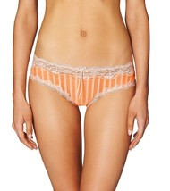 HEIDI By Heidi Klum Mesh With Lace Cheeky Neon Coral/Silver Peony, XS - $10.89