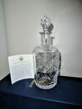 Faberge Crystal Decanter - $450.00