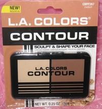 L.A.COLORS Contour Powder Sculpt & Shape Your Face~MEDIUM CBPP27 New In ... - $3.40