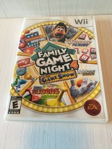Family Game Night 4: The Game Show (Nintendo Wii, 2011) - $14.85