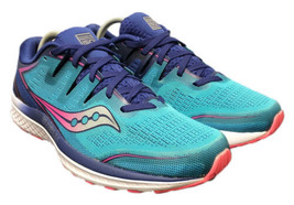 Saucony Everun Guide ISO 2 Pink Blue S10464-3 Running Shoes Womens Size 10 - $58.80