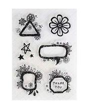 [Flower] 2 Sets Of Creative Transparent Craft Stamps Scrapbooking Clear ... - £8.89 GBP