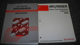 2003 Toyota 4Runner Electrical Wiring Diagram Manual & Features Manual OEM - $24.70
