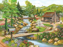 "SUNSOUT INC Spring Season 1000 pc Jigsaw Puzzle USA 20"" x 27"" - $26.14"