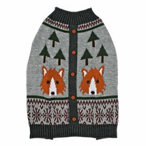 VIBRANTLIFE WOLF KNIT PET SWEATER 17 IN NEW - $12.57