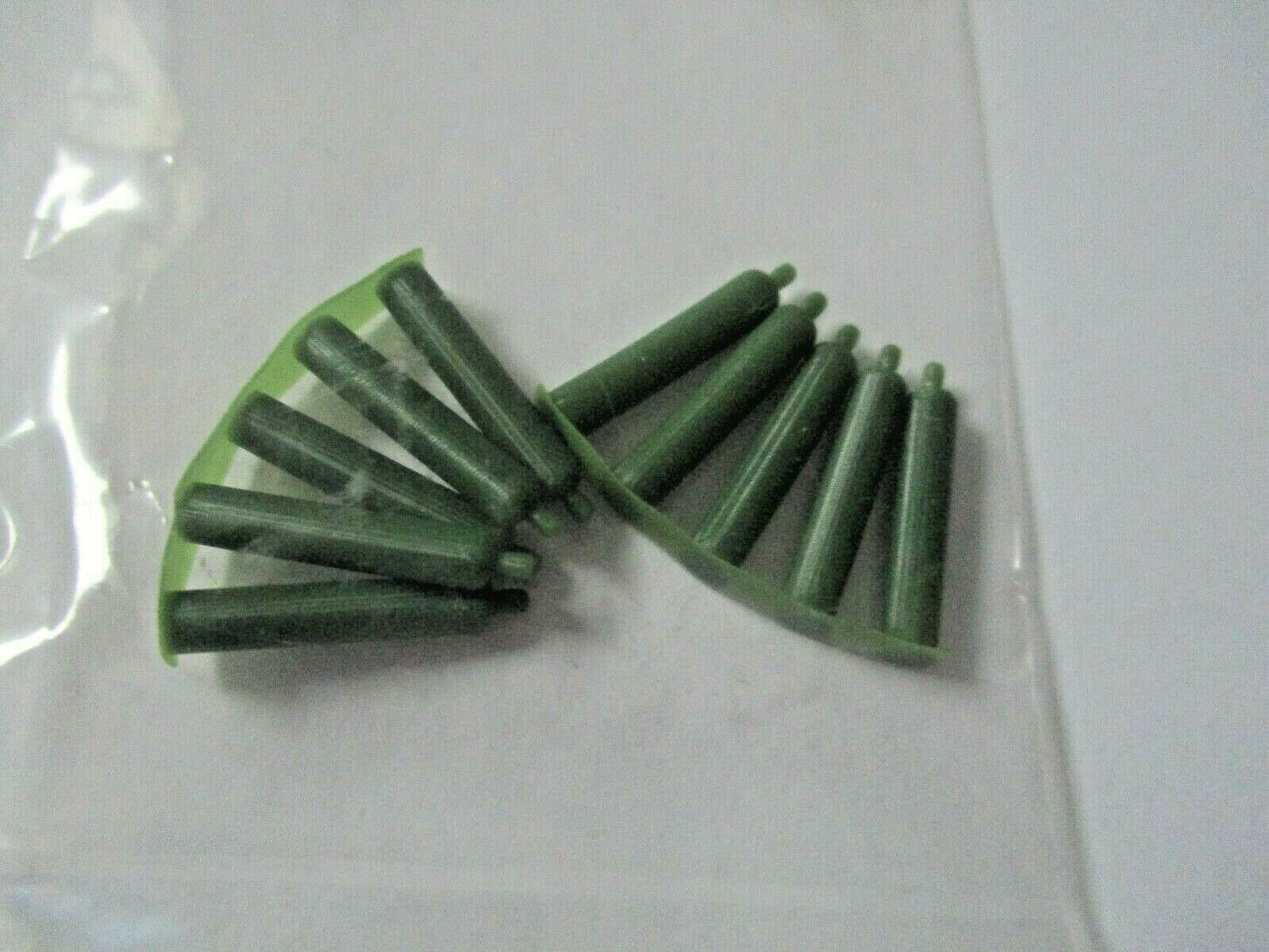 Atlas # 4002011 Oxygen Tanks 10 Pieces 3D Printed Accessories HO Scale