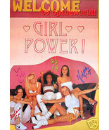 The Spice Girls Welcome to Spice World Poster LIMITED EDITION FREE SHIPPING - $14.50
