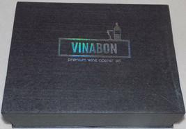 VINABON Wine Opener Set - Premium 2020 All-In-One Bottle Kit Lever Corks... - $23.38