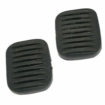 Willys Ford Jeeps 2x Black Clutch & Brake Pedal Rubber Pad Cover Sleeve - $8.32