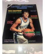 Cats' Pause Official Kentucky Basketball Yearbook (1987-88) - Rex Chapma... - $28.04