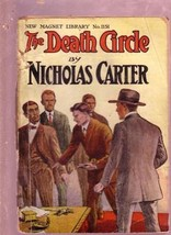 NEW MAGNET LIBRARY-#1151-DEATH CIRCLE-NICK CARTER FR - $31.53
