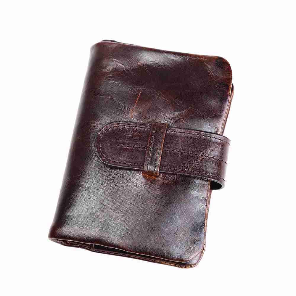 653391f1a2c Joyir genuine leather men wallet cow leather mens wallet clutch card holder  men s purse with