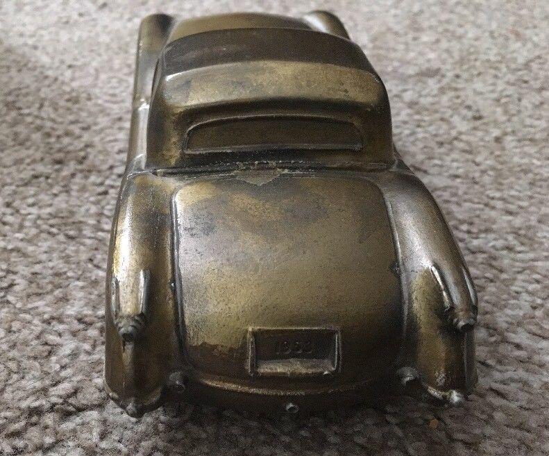 1953 Banthrico Corvette Bank American Bank1974 Car Bank Made In USA Vintage
