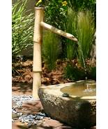 "Bamboo 36"" Outdoor Water Fountain Spout & Pump Kit- Eco-Friendly and Bea... - $70.00"