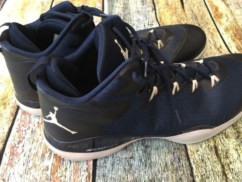 purchase cheap dbf24 fec69 ... clearance nike air jordan flight plate mens basketball shoes size 18 us  52.5 eu blk 894df