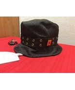 Auth Vtg Rare  Christian Dior Trotter Hat Brown #58 Cotton France  CPX04... - $350.00
