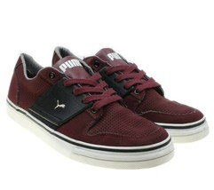 PUMA LIFESTYLE ECO ORTHOLITE Womens Burgundy Lace-up Sneakers Size 6.5 - $34.64