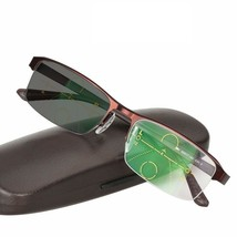 Progressive Multifocal Glasses Reading Men Transition Sunglasses Photoch... - $45.96
