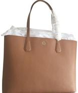 Tory Burch Brody Bark Leather large brown shoulder bag - $229.00