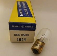 General Electric GE 1944 GE1944 Miniature SC Lamp Light Bulb 14V 3.57A T... - $7.89