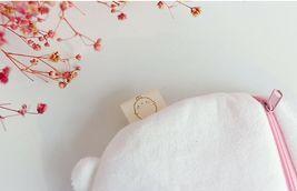 Molang Cosmetic Makeup Pen Strap Pouch Bag Case (White) image 5