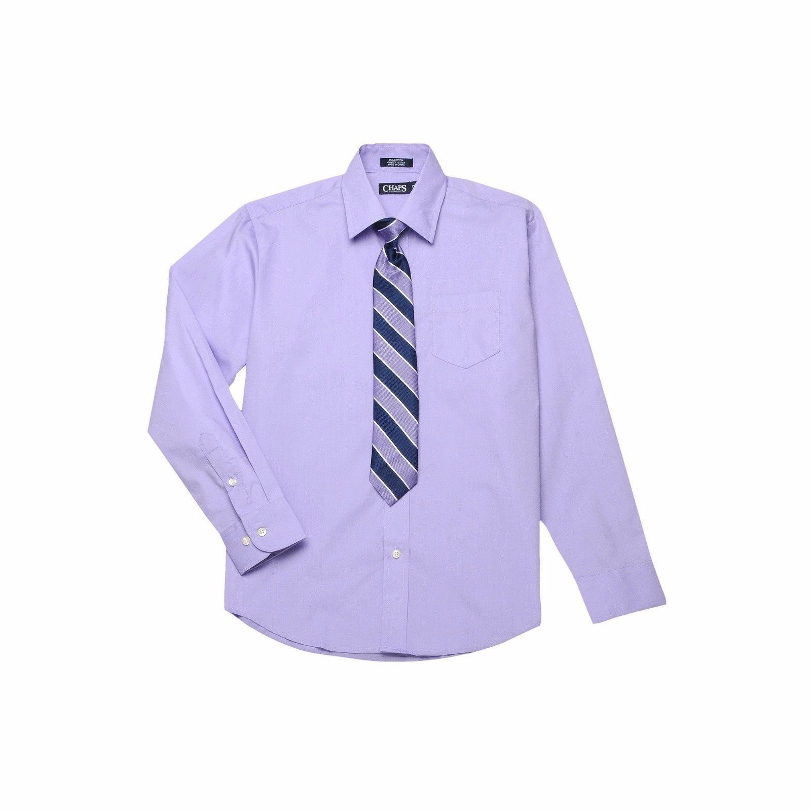 Nwt Chaps Boys Size 5 Dress Shirt Tie Set And 24 Similar Items