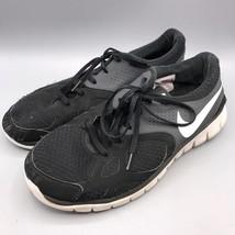 Men's Nike Flex Running Shoes Style 512019-010 Size 11.5 Black js - $19.79