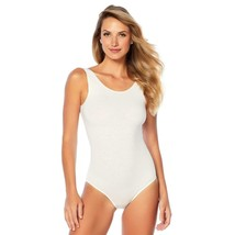 Yummie Seamless Full-Back Tank Body Suit in White, L/XL (607672) - $28.70