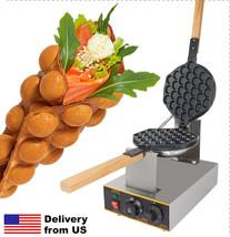 Electric EGG WAFFLE Maker Professional 110V or 220V GRILL / OVEN for QQ ... - $138.59