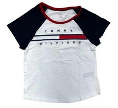 Tommy Hilfiger Kids T-Shirt Girls White- XL (16) - $26.99