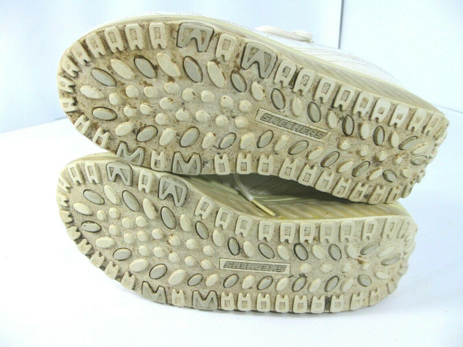 Sketcher Shape Ups Womens Size 8 White 11800 Fitness Sneaker Walking Shoes image 5