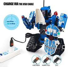 Mould King 2 in 1 Building Block Robot Policemen Toy with Remote Control Robot E image 5